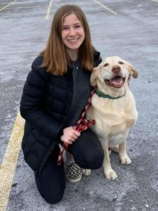 Elizabeth & Dudley *Registered Pet Partners team