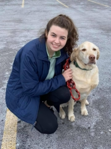 Katie & Dudley *Registered Pet Partners team