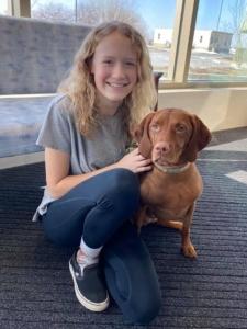 Lily & Fern *Registered Pet Partners team