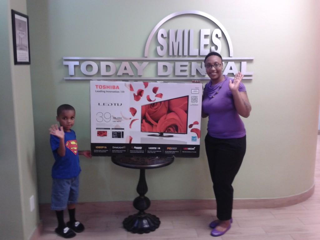 Smiles Today of Las Vegas dental contest winner