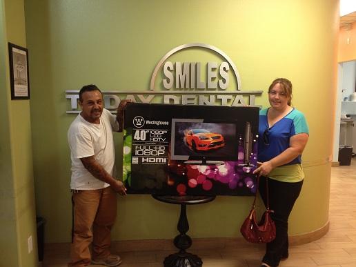 Smiles today dental contest winner