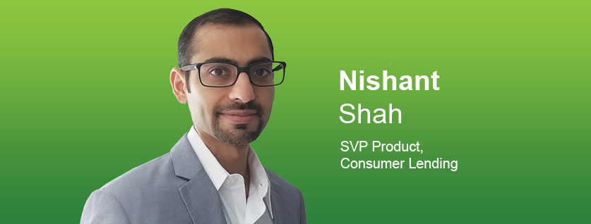 photo of Nishant Shah with green background