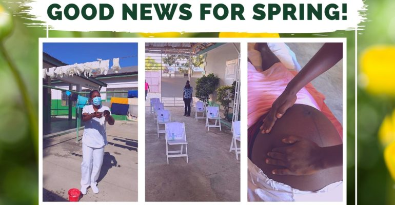 Good News for Spring 2021!