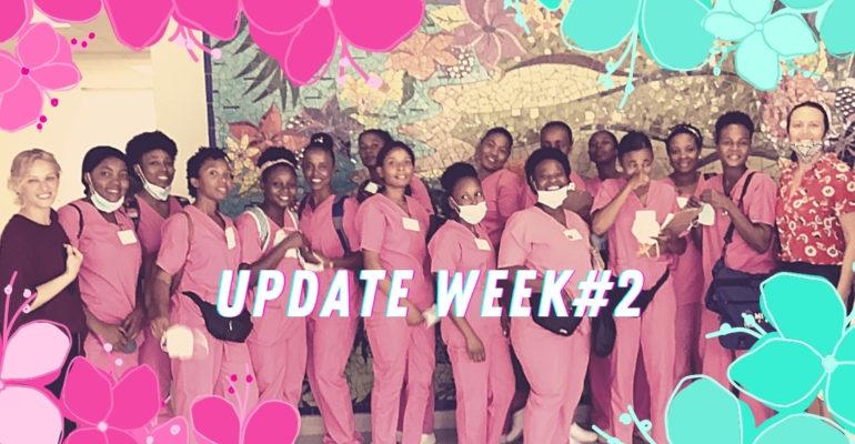 Update Week 2, Spring Campaign