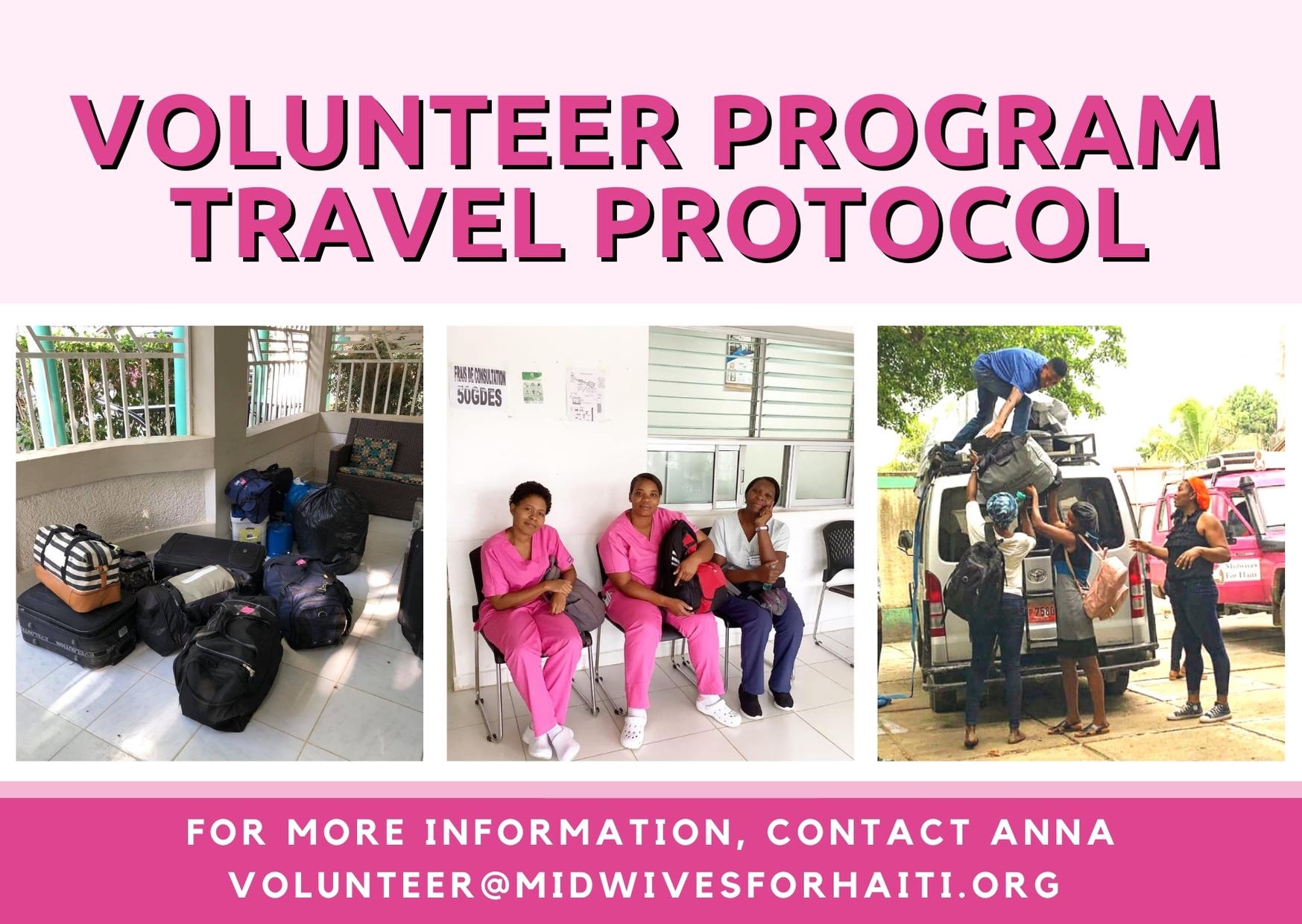 Volunteer Travel Protocol