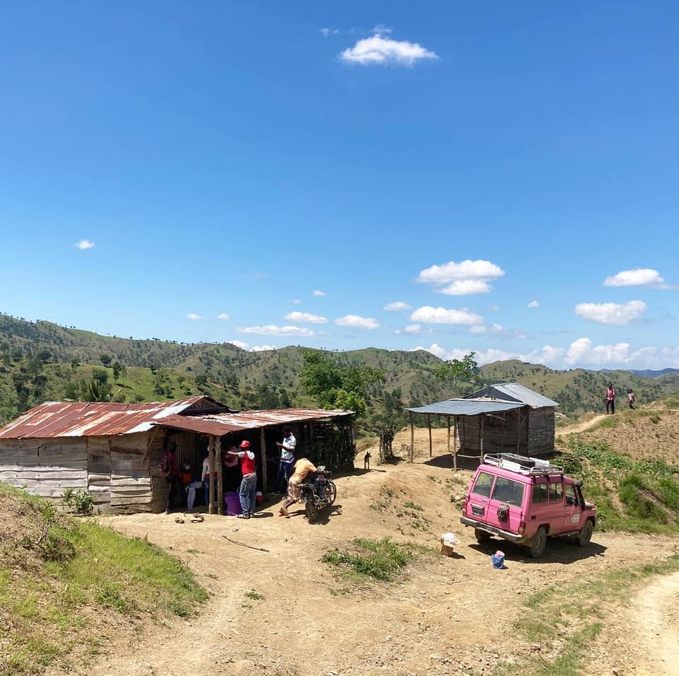 House in rural area in Haiti