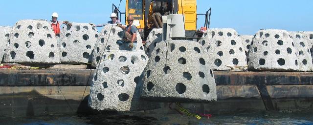 Culverts and Reef Balls Oct/Nov 2009
