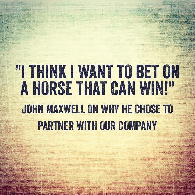 a horse that can win