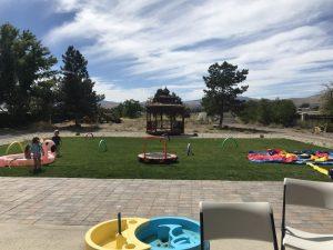 outdoor party activities