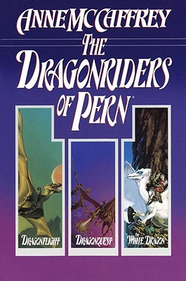 Book cover: The Dragonriders of Pern trilogy (single volume) by Anne McCaffrey