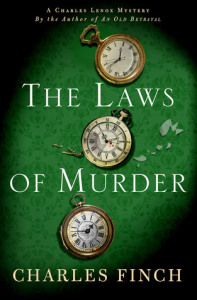 TOUR & GUEST POST: Charles Finch's The Laws of Murder