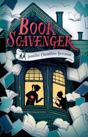 Book Scavenger, by Jennifer Chambliss Bertman