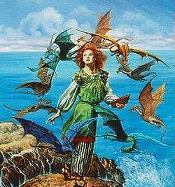 McCaffrey_Dragonsong_cover-art_RowenaMorrill_detail