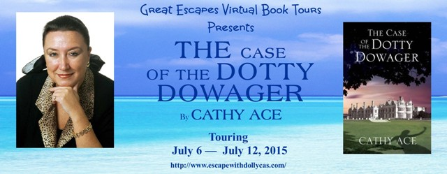 TOUR: The Case of the Dotty Dowager (Cathy Ace)