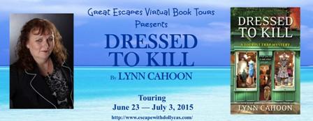 TOUR: Dressed to Kill, by Lynn Cahoon