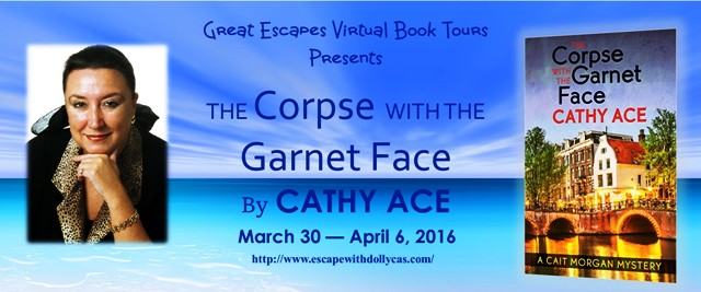 TOUR: The Corpse with the Garnet Face -- REVIEW & GIVEAWAY