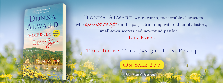 REVIEW, EXCERPT & GIVEAWAY: Somebody Like You (Donna Alward)