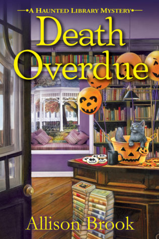 TOUR: Death Overdue by Allison Brook – with character guest post!
