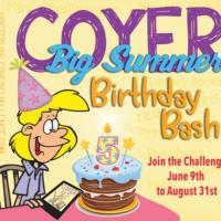 COYER Summer Birthday Bash – My Goals