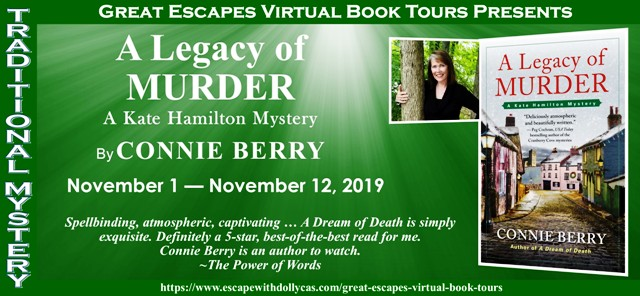 A Legacy of Murder by Connie Berry — tour & giveaway