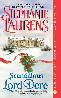 Book cover: Scandalous Lord Dere by Stephanie Laurens