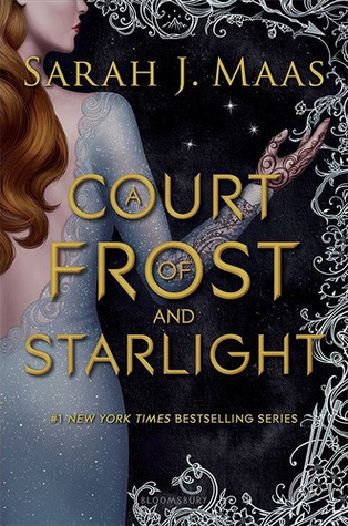 Book cover: A Court of Frost and Starlight by Sarah J. Maas