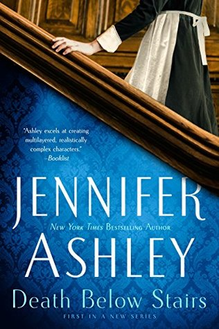 Book cover: Death Below Stairs by Jennifer Ashley