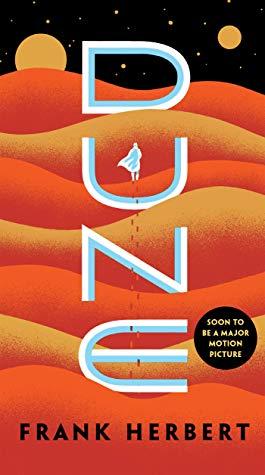 Book cover: Dune by Frank Herbert