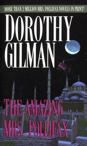 Book Cover: The Amazing Mrs. Pollifax, by Dorothy Gilman