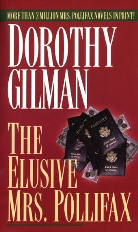 Book Cover: The Elusive Mrs. Pollifax, by Dorothy Gilman