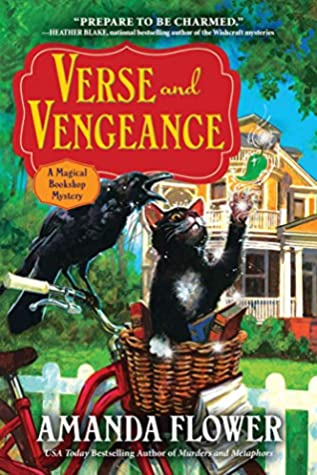 Book Cover: Verse and Vengeance by Amanda Flower