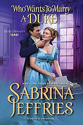 Book cover: Who Wants to Marry a Duke, by Sabrina Jeffries