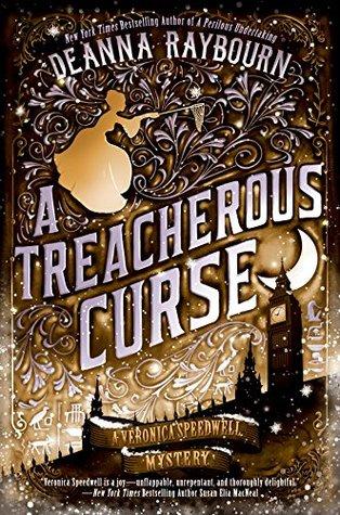 Book cover: A Treacherous Curse, by Deanna Raybourn