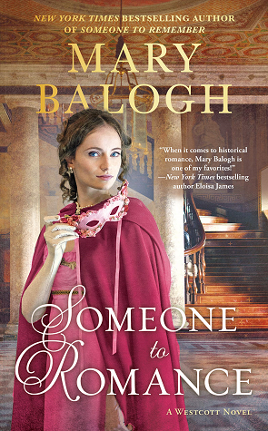 Book cover: Someone to Romance by Mary Balogh