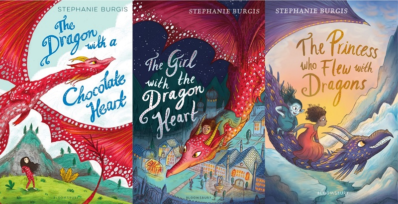 Series: Tales From the Chocolate Heart, by Stephanie Burgis