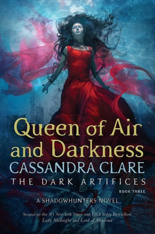 Book cover: Queen of Air and Darkness by Cassandra Clare