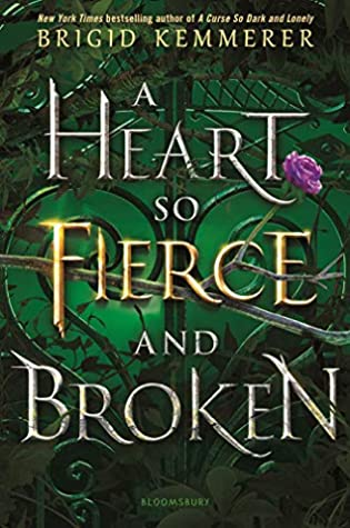 Book Cover: A Heart So Fierce and Broken, by Bridgid Kemmerer
