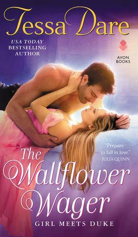 Book cover: The Wallflower Wager, by Tessa Dare