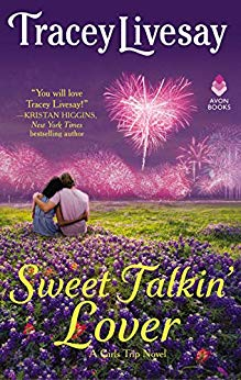 Book cover: Sweet Talkin' Lover, by Tracey Livesay