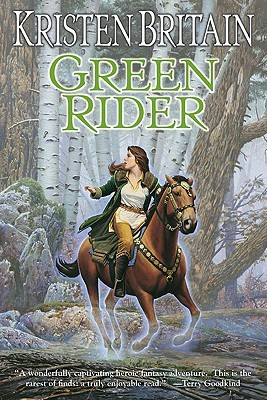 Book cover: Green Rider, by Kristen Britain