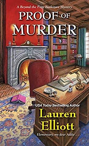 Book cover: Proof of Murder, by Lauren Elliott
