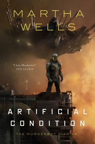 Book cover: Artificial Condition, by Martha Wells