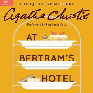Audiobook cover: At Bertram's Hotel, by Agatha Christie