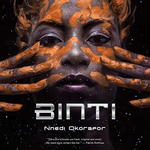 Audiobook cover: Binti, by Nnedi Okorafor