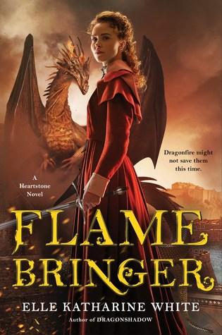 Book cover: Flamebringer, by Elle Katharine White