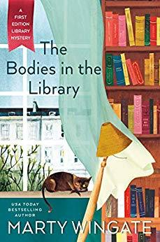 Book cover: The Bodies in the Library, by Marty Wingate