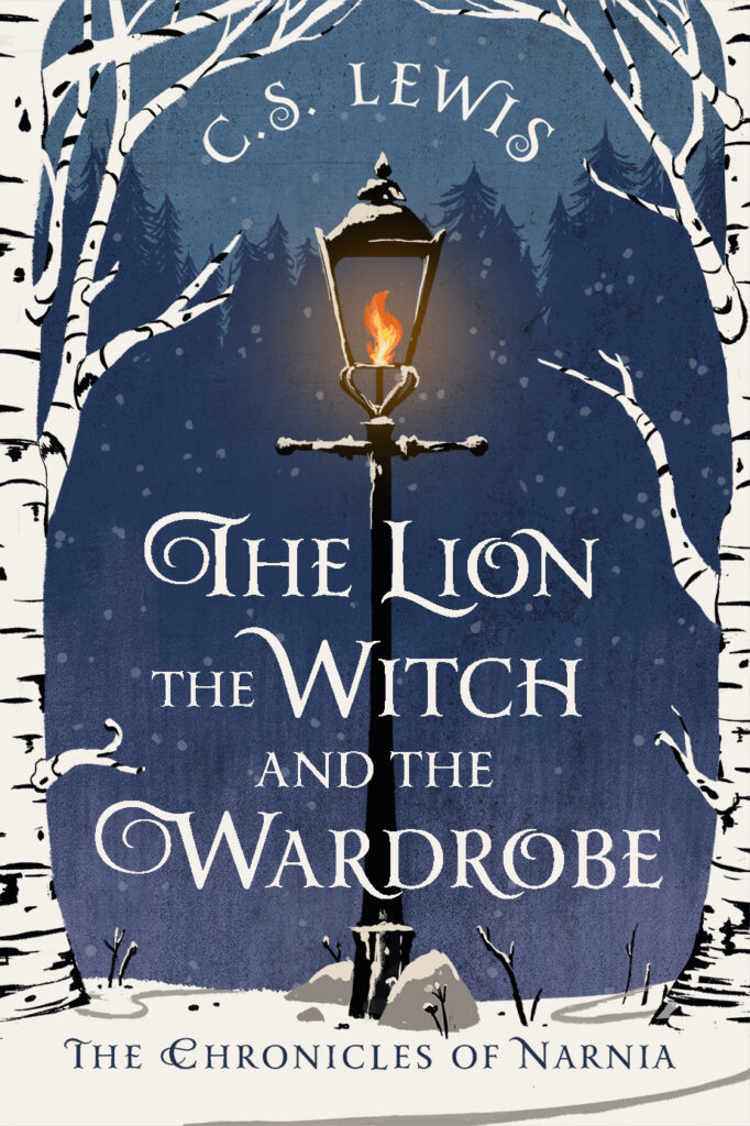 Book cover: The Lion, the Witch, and the Wardrobe