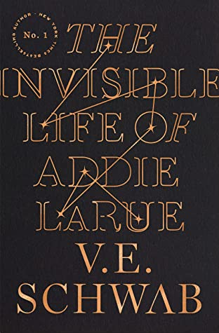 Book cover: The Invisible Life of Addie LaRue