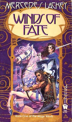 Book cover: Winds of Fate, by Mercedes Lackey