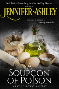 Book cover: A Soupcon of Poison, by Jennifer Ashley